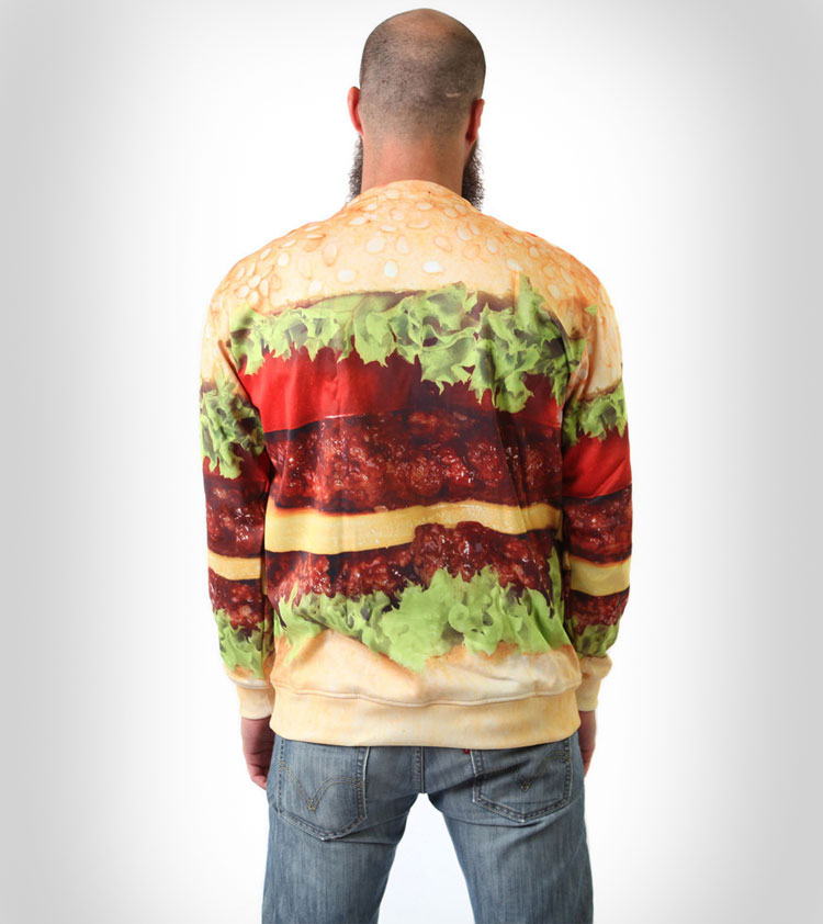 Cheeseburger Sweatshirt