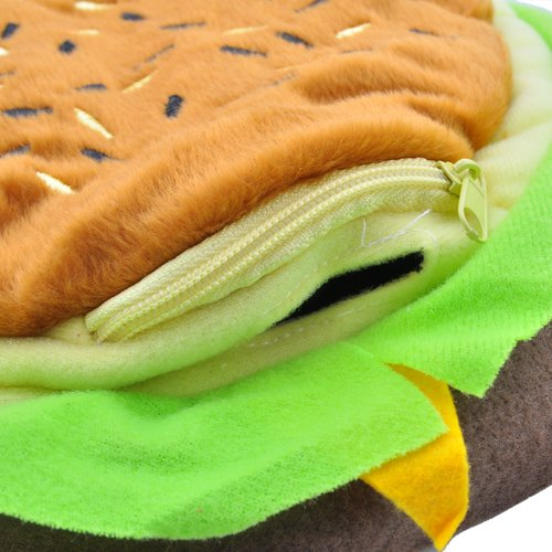 Cheeseburger Mouse Pad With Hand Warmer