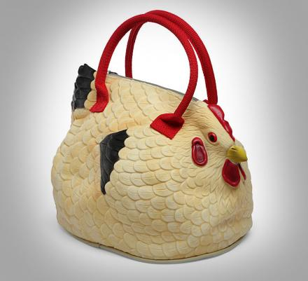 Who Needs Versace Or Louis Vuitton When This Chicken Bag Exists