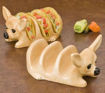 & Chihuahua Taco Holder