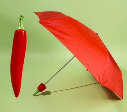 Chili Pepper Umbrellas
