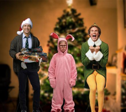 Christmas Character Life-size Cardboard Cutouts