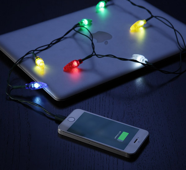 christmas light phone charger