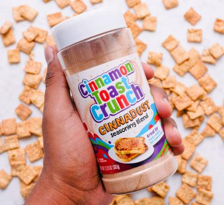 Cinnamon Toast Crunch Is Releasing 'Cinnadust' Seasoning That You Can Sprinkle On Anything