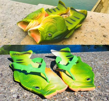 These Fish Sandals Make It Look Like You're Wearing Fish On Your Feet