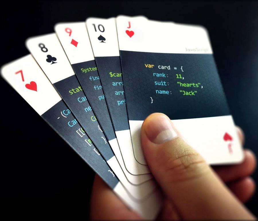 Code:Deck Are Playing Cards For Developers