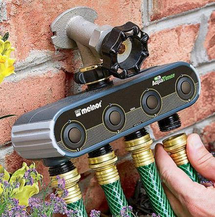 Control And Set Schedules For Your Garden Hoses From Your Smartphone