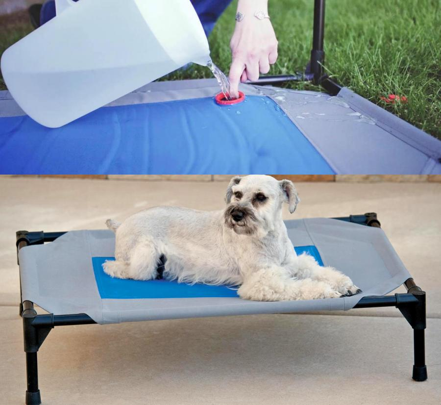 how to make outdoor dog bed