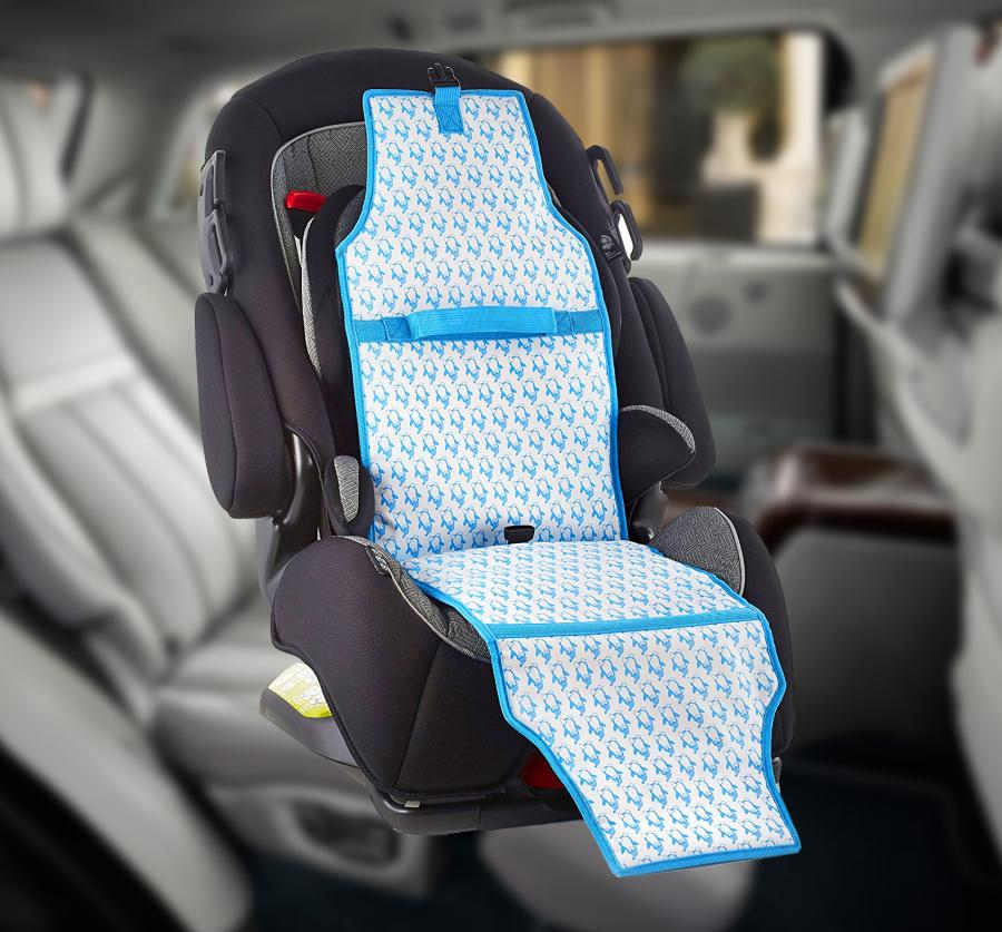 cooltech car seat cooler keeps your child 39 s car seat cool on hot days. Black Bedroom Furniture Sets. Home Design Ideas