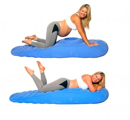 Cozy Bump Pregnancy Pillow Allows Pregnant Women To Lay On Their Stomach