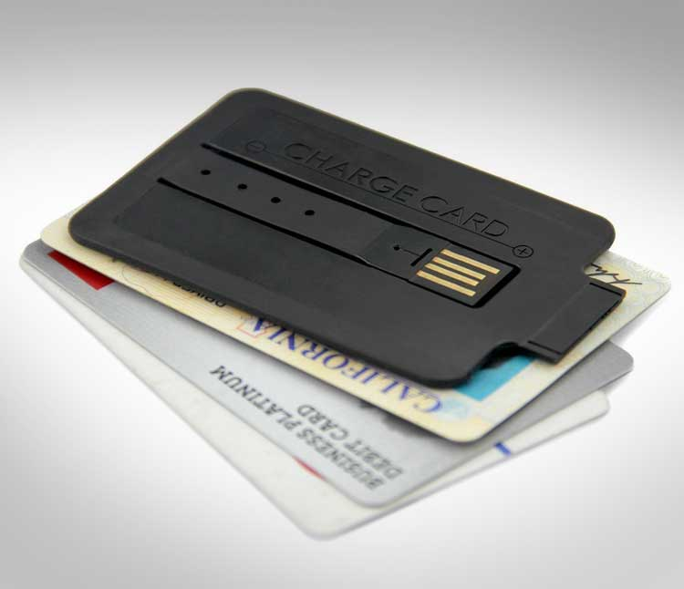 Charge Card Credit Card Sized Phone Charger 3