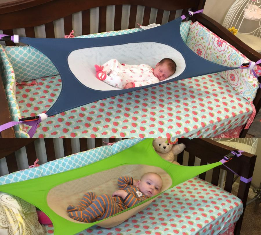Medium image of this newborn hammock attaches to your babies crib and is made to help reduce the environmental risk factors associated with sids  sudden infant death