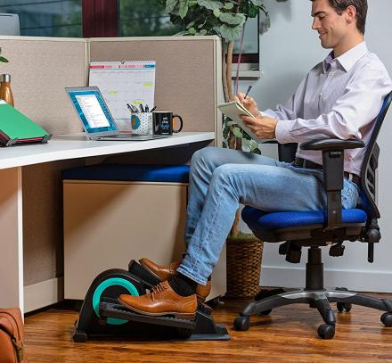 Cubii Jr: Mini Elliptical Exerciser For Use Under Desks