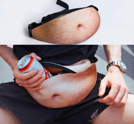 DadBag: Fanny Pack That Makes You Have a Hairy Gut Showing
