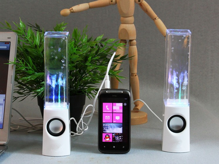 Dancing Water Fountain Speakers
