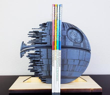 Star Wars Death Star Bookends