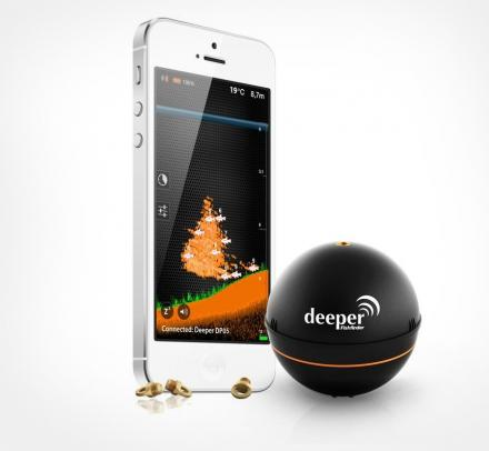 Deeper: A Sonar Fish Finder That Connects To Your Phone