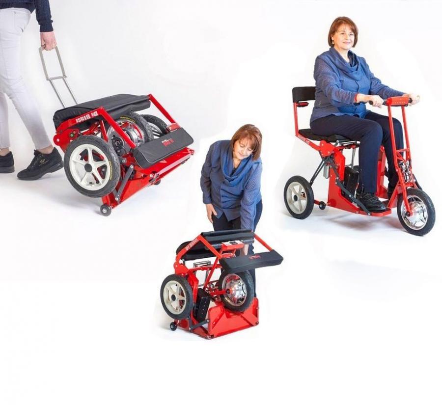 Kid Electric Car >> Di Blasi Model R30 Folding Mobility Scooter
