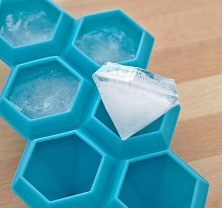 Diamond Shaped Ice Cube Tray