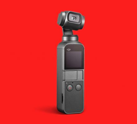 DJI Osmo Pocket: Stabilized Handheld 4k Camera