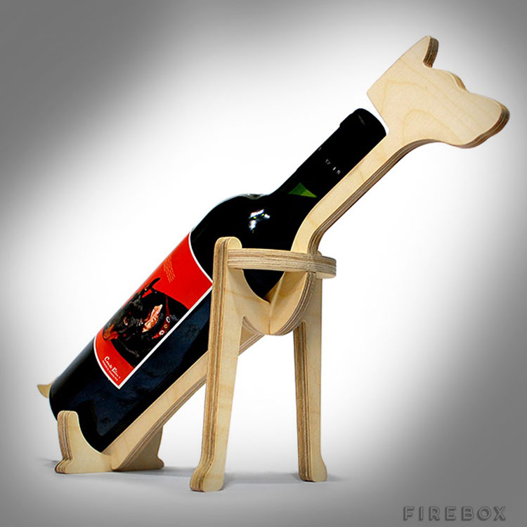 Doberman Wine Rack