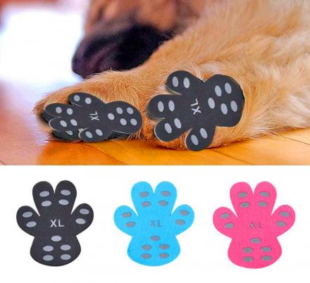 There Are Now Dog Pad Grips That Prevent Your Pooch From Slipping On Hardwood Floors