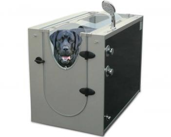 Dog Shower Stall