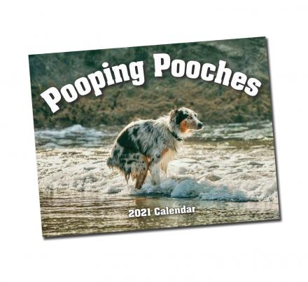 Dogs Pooping Calendar 2021