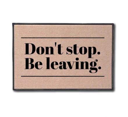 Don't Stop, Be Leaving Doormat Is The Proper Way For Journey Fans To Turn Away Solicitors