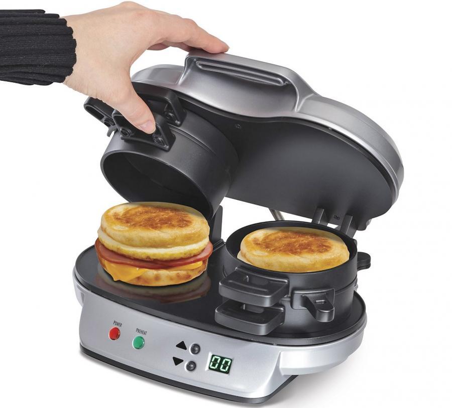 Double Breakfast Sandwich Maker