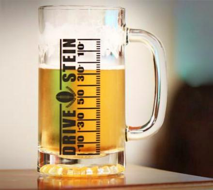Drive Stein: Football Drinking Mug Lets You Track Your Progress With The Game