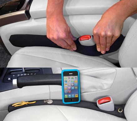 Drop Stop Prevents You From Dropping Items Through The Seat Gap In Your Car