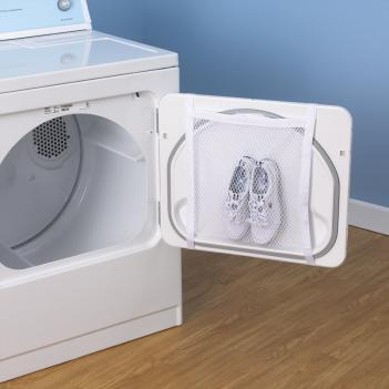 Dryer Door Shoe Net Lets You Dry Your Shoes In The Dryer