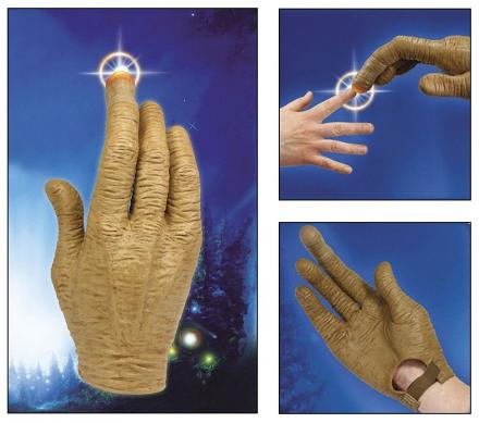 E.T. Glove With Light Up Finger