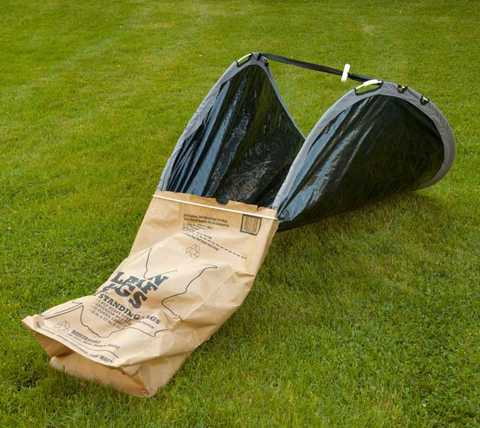 Easy Leaf Bag Loader 5