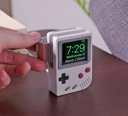 Elago W5 Apple Watch Stand Turns Your Smart Watch Into A Game Boy