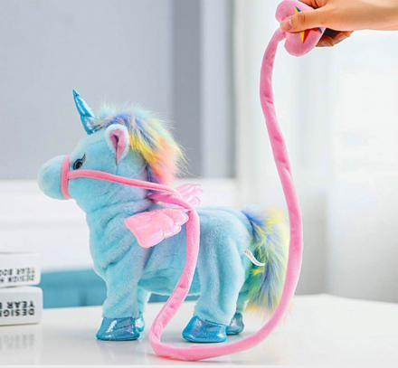 Electronic Walking Unicorn Toy