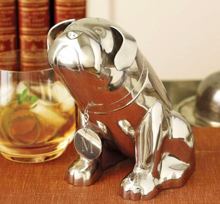 English Bulldog Cocktail Shaker