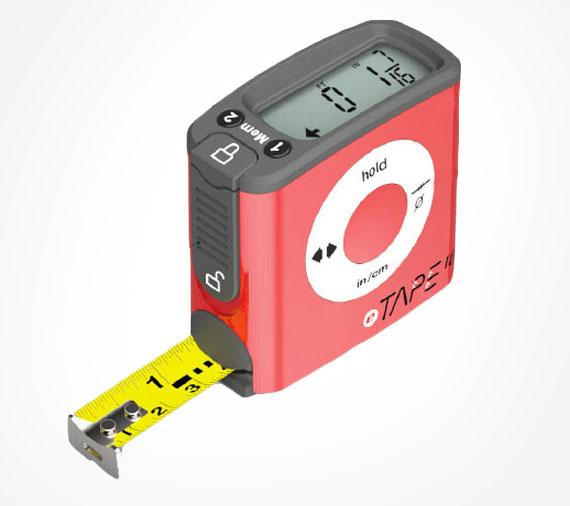 Digital Measuring Length : Etape digital tape measure with display