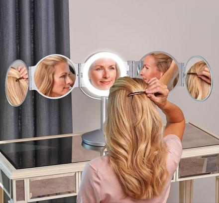 Every Angle LED Lighted Mirror