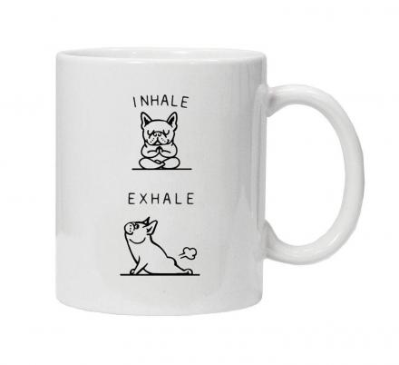 Every French Bulldog Owner Needs This Farting Frenchie Coffee Mug