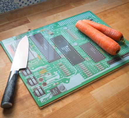 Every Geek Probably Needs This Motherboard Cutting Board