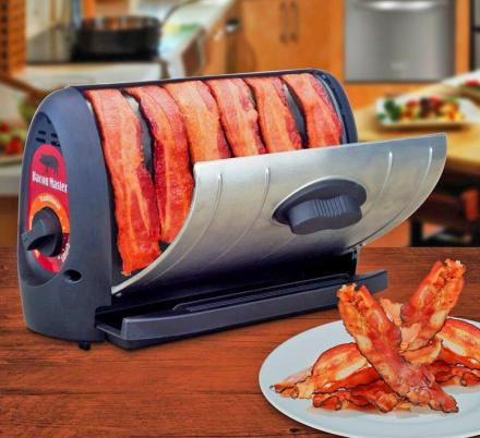 Every Home Must Now Require This Genius Automatic Bacon Cooking Gadget