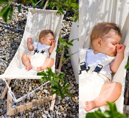 Every New Parent Probably Needs This Tiny Outdoor Baby Hammock This Summer