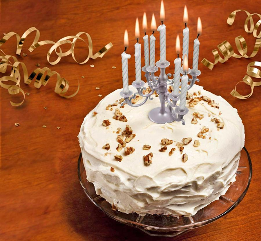 This Candelabra Cake Topper Is The Perfect Way To Make Someone Feel Truly Special It Can Be Used On A Birthday Holiday Celebration Or Really Any