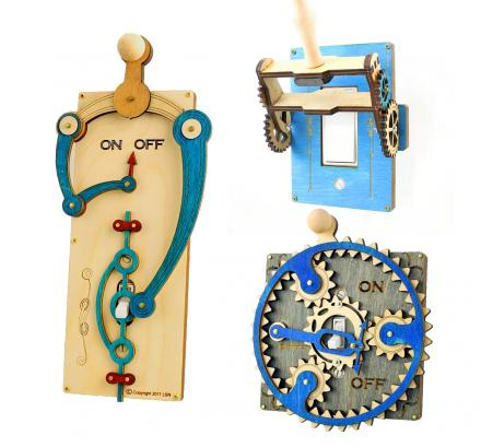 Extravagant Light Switch Toggles