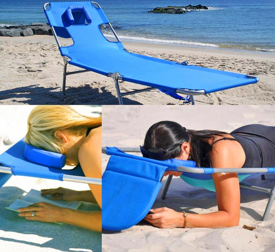 Enjoyable Face Down Lounge Chair Lets You Read Comfortably On Your Stomach Pdpeps Interior Chair Design Pdpepsorg