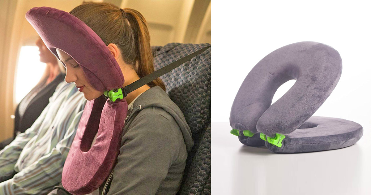 FaceCradle Is The Toilet Seat Shaped Travel Pillow You Need In Your Life