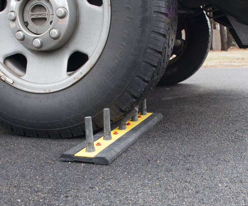 Fake Car Spikes To Prevent Cars From Driving Where You Don ...