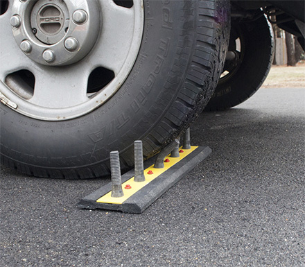 Fake Car Spikes To Prevent Cars From Driving Where You Don